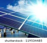 power plant using renewable... | Shutterstock . vector #119534485