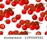 seamless background with sketch ... | Shutterstock .eps vector #1195349542