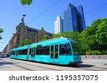 frankfurt am main  germany  9... | Shutterstock . vector #1195357075