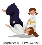 vector illustration of a... | Shutterstock .eps vector #1195362622