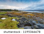 aros near tobemory on the isle... | Shutterstock . vector #1195366678