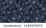 halloween spiderweb black and...   Shutterstock .eps vector #1195374475