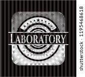 laboratory silver badge | Shutterstock .eps vector #1195468618