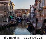 venice  italy   september 28 ...   Shutterstock . vector #1195476325