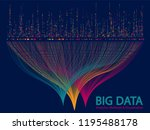 big data statistical methods...   Shutterstock .eps vector #1195488178
