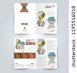 abstract flyer design... | Shutterstock .eps vector #1195516018