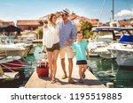 happy family having fun ...   Shutterstock . vector #1195519885