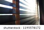 evening sun light outside with... | Shutterstock . vector #1195578172