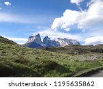 torres del paine national park  ... | Shutterstock . vector #1195635862