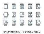 settings of mobile phone line...