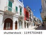 polignano a mare  italy   may... | Shutterstock . vector #1195703485