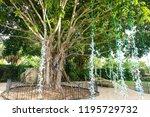 saint petersburg  usa   jun 16  ... | Shutterstock . vector #1195729732