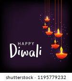 illustration greeting card... | Shutterstock .eps vector #1195779232
