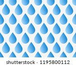 drops pattern. endless... | Shutterstock .eps vector #1195800112