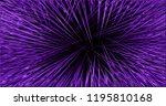 illustration purple glowing... | Shutterstock . vector #1195810168