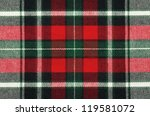 Blank Checkered Fabric Texture  ...