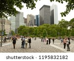 new york  usa   may 28  2018 ... | Shutterstock . vector #1195832182