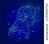 global logistics network... | Shutterstock .eps vector #1195905715