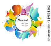 butterflies design   Shutterstock . vector #119591362