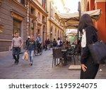 bologna  italy   circa... | Shutterstock . vector #1195924075