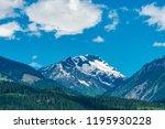 rocky mountains. mount burnham...   Shutterstock . vector #1195930228