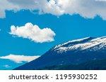 rocky mountains. mount burnham...   Shutterstock . vector #1195930252