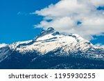 rocky mountains. mount burnham...   Shutterstock . vector #1195930255