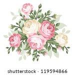 vector illustration of vintage... | Shutterstock .eps vector #119594866