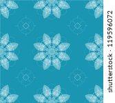 seamless retro kaleidoscope... | Shutterstock .eps vector #119596072