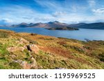 the isle of mull coastline at... | Shutterstock . vector #1195969525