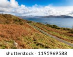 the isle of mull in autumn near ... | Shutterstock . vector #1195969588