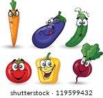 cartoon  beet | Shutterstock .eps vector #119599432