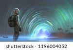 science fiction scene of the...   Shutterstock . vector #1196004052