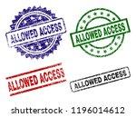 allowed access seal imprints... | Shutterstock .eps vector #1196014612