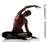 Stretching Sport Woman Full...