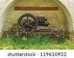 Old Steam Machine Staying In A...