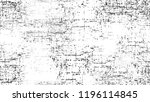 cartoon distressed black and... | Shutterstock .eps vector #1196114845