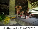 indians of the mentawai tribe ... | Shutterstock . vector #1196122252