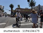 hollywood   august 7  2018 ... | Shutterstock . vector #1196136175