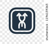 upward vector icon isolated on...