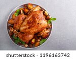 Roast Chicken With Roast...