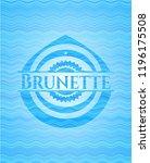 brunette water representation... | Shutterstock .eps vector #1196175508