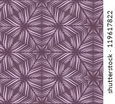 seamless geometric winter... | Shutterstock .eps vector #119617822