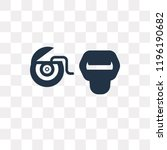 floss vector icon isolated on...   Shutterstock .eps vector #1196190682