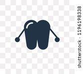 dental floss vector icon...   Shutterstock .eps vector #1196198338