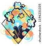 symbol of education  business ... | Shutterstock .eps vector #1196231335