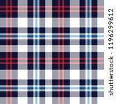 yarn dyed checks pattern | Shutterstock .eps vector #1196299612