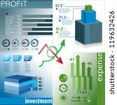 infographic presentation... | Shutterstock .eps vector #119632426