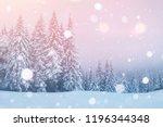 mysterious landscape majestic... | Shutterstock . vector #1196344348