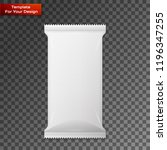 white wipes package | Shutterstock .eps vector #1196347255